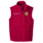 F219 - M129-S2.0-2016 - EMB - Fleece Vest